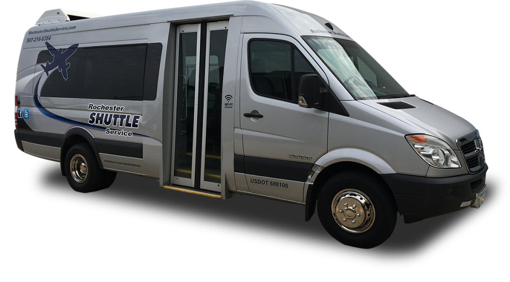 Rochester to Minneapolis Shuttle | Rochester Shuttle Service